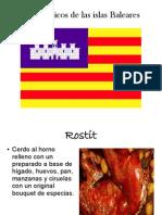 Platos Típicos de Las Islas Baleares