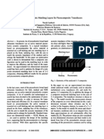 Optimization of Acoustic Matching Layers for Piezocomposite Transducers
