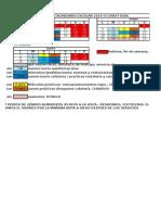 ++++++CALENDARIO ESCOLAR DSR1º DUAL, PRÁCTICAS, ETC.