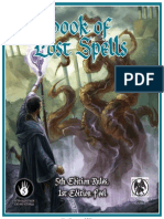Book of Lost Spells (Necromancer Games)