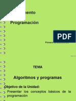 1 UT - Algoritmos y Programas 1 Parte