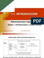 Introduccion a la Administración de Operaciones