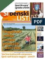Sibenski list, 11. lipnja 2015