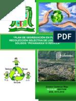 Plan de Segregacion en Fuente - 2015