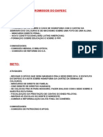 tabela diretorio academico