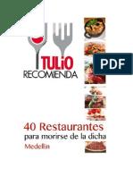 40 Restaurantes Por TULIO Recomienda 226
