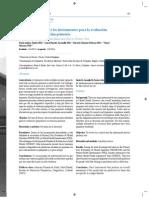 Revision Critica Sobre Los Instrumentos Para La Evaluacion Psiquiatrica en Atencion Primaria