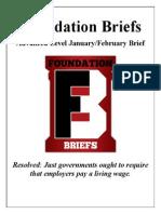 Foundation Briefs