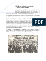 Huelga de Ferrocarileros 1958-1959