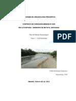 Arqueologia Preventiva Rio La Fortuna Antioquia