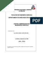 Manual de Costos Comparativos de Maquinaria Agrícola - CA