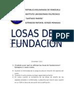 [FUNDACIONES Y MUROS] Trabajo de Losas de Fundación (2)