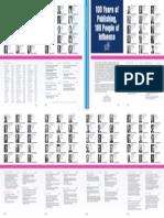 American Journal of Orthodontics and Dentofacial Orthopedics Volume 147 Issue 5 2015 [Doi 10.1016%2Fj.ajodo.2015.03.017] Salmond, N. -- 100 Years of Publishing, 100 People of Influence