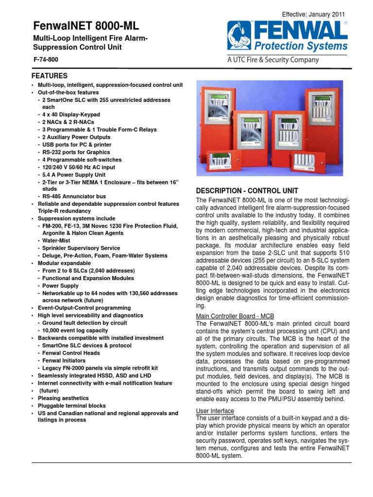 fenwalnet 8000 ml manual