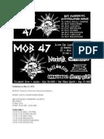 Mob 47 - Jakarta 2015