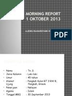 Morning Report Sirosis Hepatic