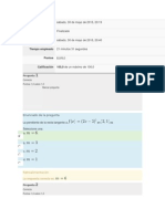 Examen Parcial Semana 4- Matematicas II