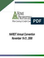 HME Home Properties Nov 2009 Presentation