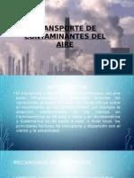 Transporte de Contaminantes Del Aire