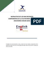 Edo -Instructivo de Los Mas Recientes Componentes de La Plataforma