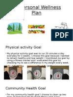 My Personal Wellness Plan