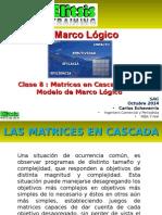 Clase 8 Matriz en Cascada en El Modelo Marco Lógico