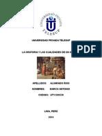 La Oratoria y Las Cualidades Del Orador Monografía