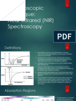 Introduction and Applications of NIR