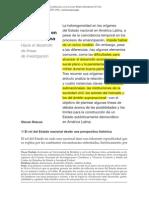 """Oszlak, O., 2007, """"El Estado Democrático en América Latina. Hacia El Desarrollo de Líneas de Investigación,"""""""