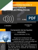 Liquidos y Electrolitos -Deshidratacion