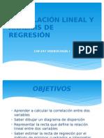 CORRELACIÓN LINEAL Y ANÁLISIS DE REGRESIÓN