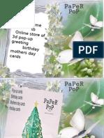 3d Pop-up  Cards