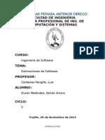Estimaciones de Software