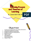 The Learning Process and Theories of Learning Final