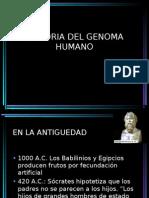 Historia de La Genetica Humana