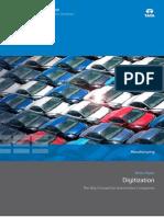 Digitization Way Forward for Auto Companies 0913 1