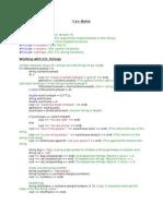 C++ Short Notes
