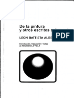 ALBERTI, Leon Battista - De La Pintura y Otros Escritos Sobre Arte - Seleccion