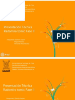 Presentación Técnica Radomiro Tomic Fase II