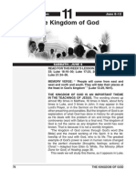 2nd Quarter 2015 Lesson 11 Easy Reading Edition the Kingdom of God