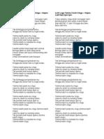 Lirik Lagu Terima Kasih Cikgu