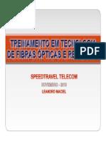 Treinamento Em Tecnologia de Fibras Ópticas e Gpon