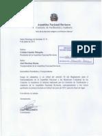 Informe Comisión de Verificación y Auditoría