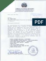 Conformación de la Comisión de Estilo