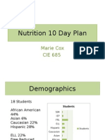 nutrition 10 day plan