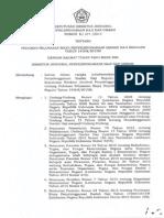 SK Dirjen No. 277 Tahun 2015 Tentang Pedoman Pelunasan Biaya Penyelenggaraan Ibadah Haji Reguler Tahun 1436H2015M