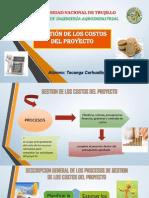 Gestion de Los Costos Del Proyecto