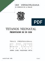 Tetano Neonatal