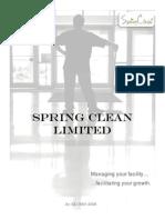 SpringClean Brochure