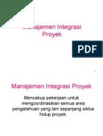 Manajemen Integrasi
